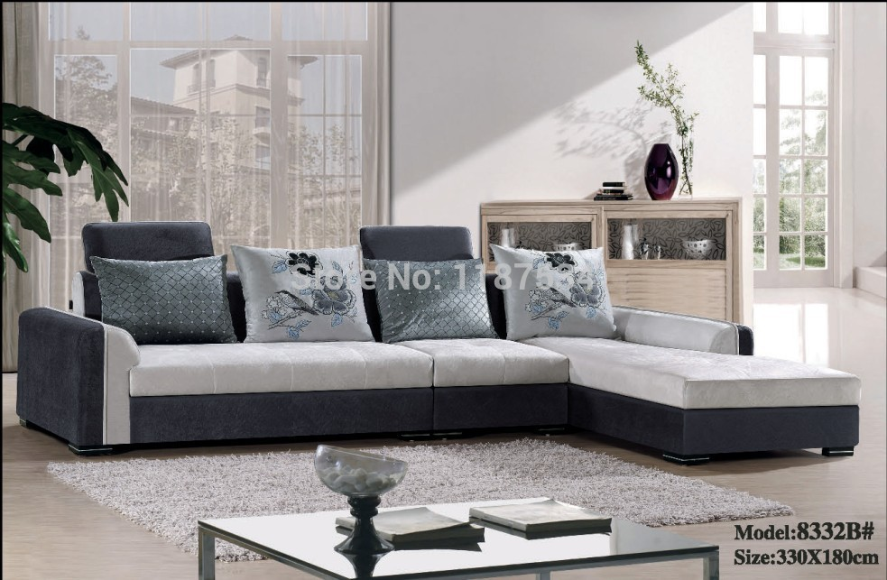 furniture living room sofa sets fabric corner sofa set in living room
