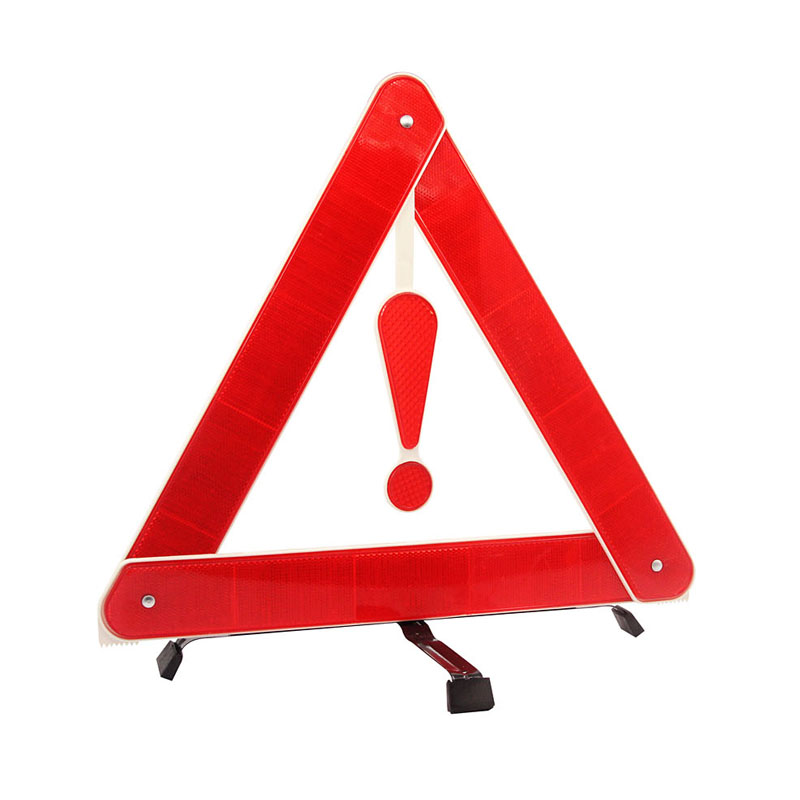 Auto Car Warning Triangles Board PVC Reflective Triangle Warning Signs for Tripod Fault Prompt Emergency Supplies(China (Mainland))
