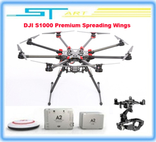2014 DJI S1000 Premium Spreading Wings quadcopter FPV Multi-rotor w/ DJI A2 and DJI Zenmuse 5DII Brushless Gimbal RC hot selling(Hong Kong)