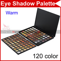 120 Full Color Cream Warm Pro Professional Camouflage Eyeshadow Eye Shadow Make Up Makeup Gloss Neutral Palette Tools Set 2233
