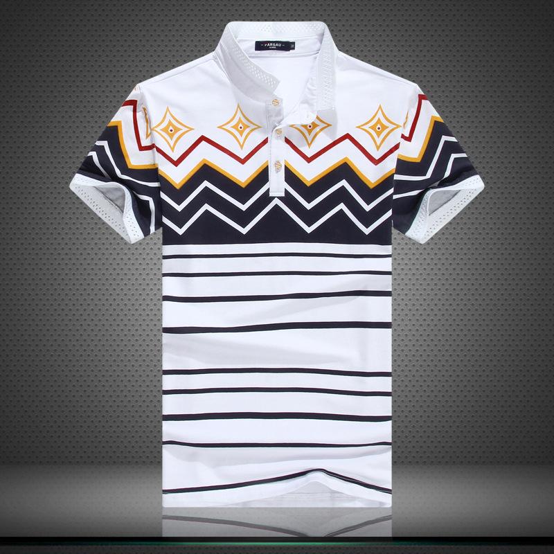 Hot Selling!! Printed Short Sleeve Classic Men POLO Shirt,Summer Shirts Men's Fashion POLO Shirt(China (Mainland))