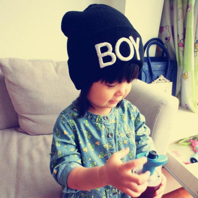 Новинка малыш девочка мальчик зима теплая шерстяная черепа шляпы мальчик шапки лыжные шапки