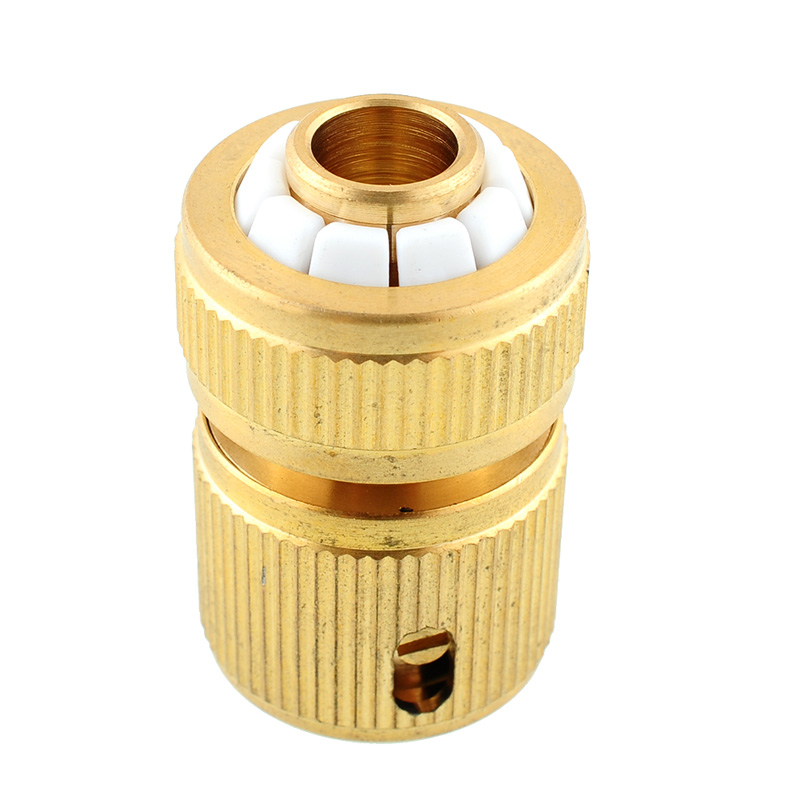 High Quality Brass Hose Tube Fitting Adapter Garden Home Water Pipe Tap Quick Connector For Watering Tools(China (Mainland))