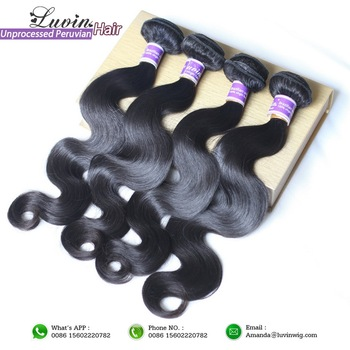 Prom Queen Hair Products 3Pcs/Lot Peruvian Body Wave Grade 6A Peruvian Virgin Hair Body Wave 100% Human Hair Weave Bundles