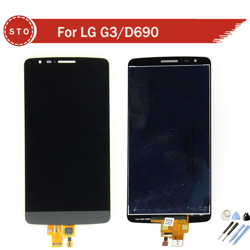 LCD Screen For LG G3 Stylus D690 With Touch display  Digitizer Assembly replacement +Tools Free Shipping