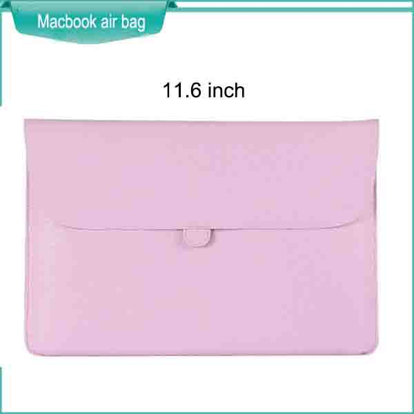 11.6 inch fashional girls or boys pink colorful laptop sleeves cheap good quality anti dust protector case for macbook air(China (Mainland))