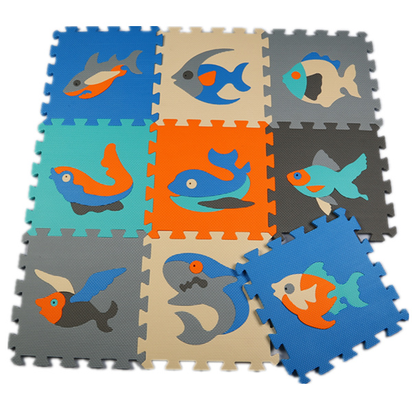 Baby floor mats EVA Animals floor pad foam crawling mat kids play mats Children jigsaw puzzle pads(China (Mainland))