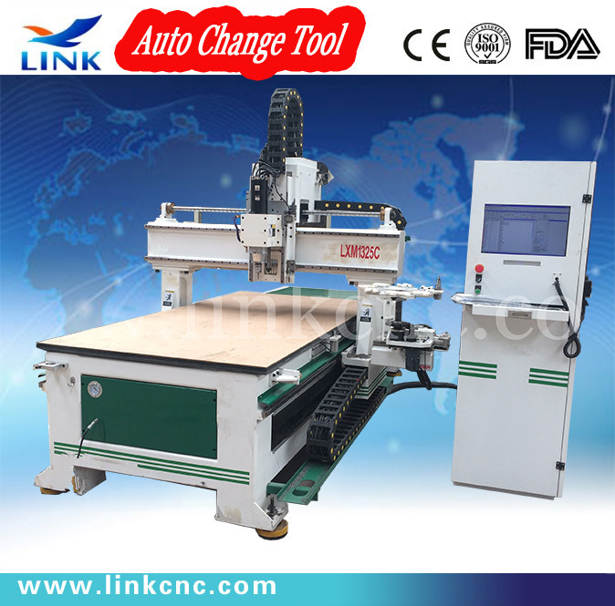 1325 high quatily Auto tool change cnc machine wood / cheap cnc milling machine(China (Mainland))