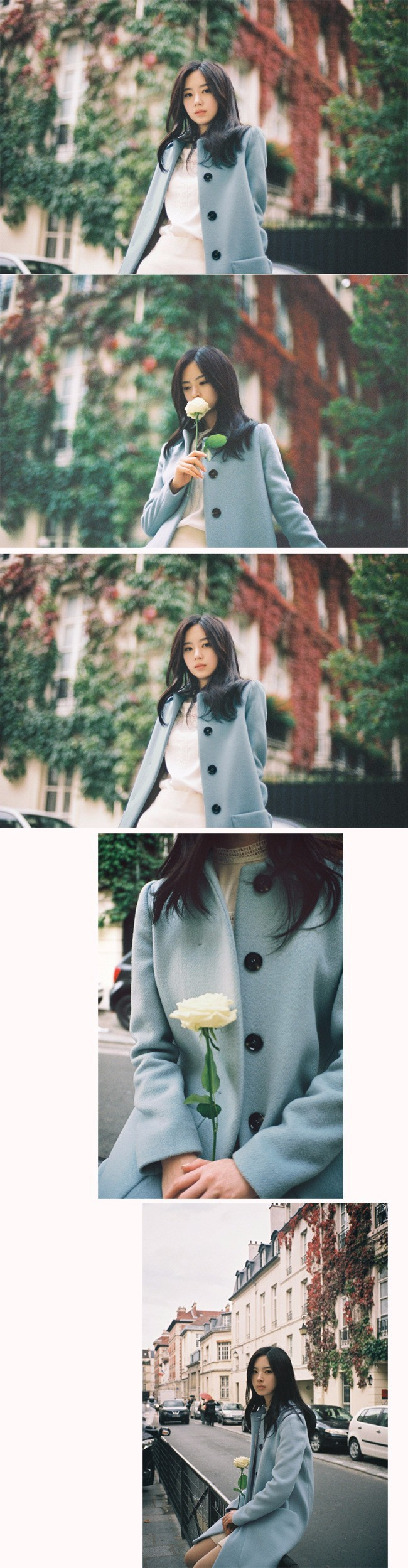 woman winter wool coats fashion 2015 Japan and Korean sweet style woolen coat jacket with large pockets MN-20