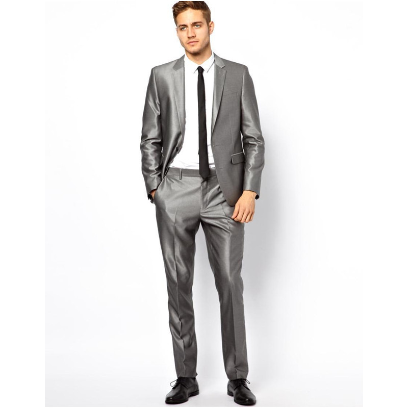 Online Buy Wholesale mens 2 piece silver suits from China mens 2 ...