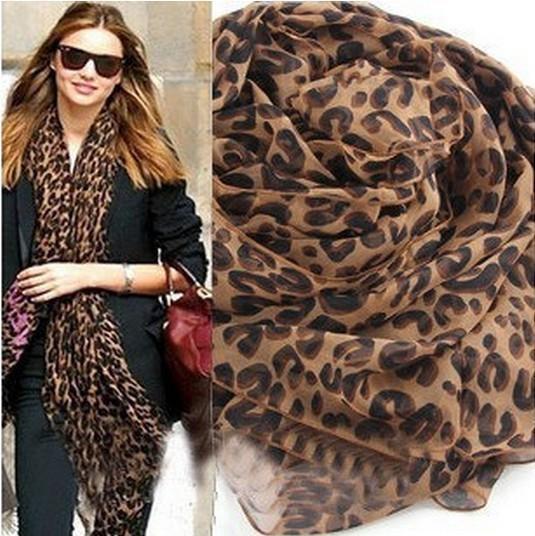 Бесплатная доставка! Шарф женщин 2016 осень и зима женщина великолепного леопарда - класс Loyer длинный шарф двойного назначения