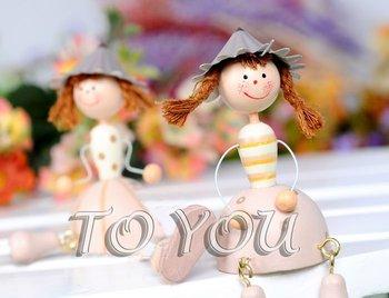 Free Shipping 8pcs/lot handmade wooden cartoon dolls/wooden dolls/cartoon toys,decorative dolls