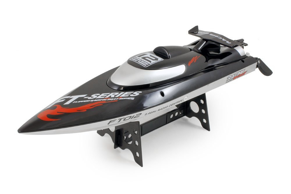F15278 FT012 (FT009 Upgraded Professional Speedboat 2.4G Brushless Water Cooling HIGH SPEED RC Remote Radio Control Racing Boat