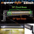Eyourlife 22 23 24 inch led light bar 120W work light for OFFROAD ATV 4x4 TRUCK