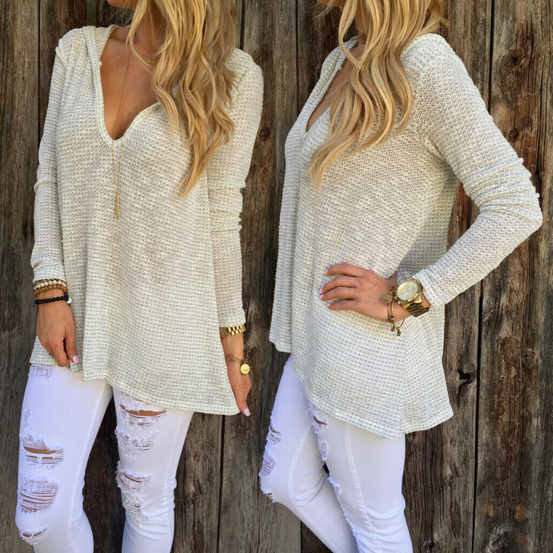 Women Ladies  Chunky Knitted Oversized Baggy Sweater Jumper Tops Outwear Pullover