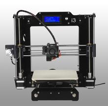 High Precision Reprap Prusa i3 DIY 3d Printer kit impressora 3d with 2 Roll Filament 8GB