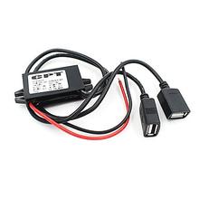 ETC Hot DC Converter 12V to 5V 3A Double 2 USB to Auto Power Regulator Voltage Step Down(China (Mainland))