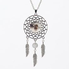 SUTEYI Vintage Style Hedgehog Necklace Jewelry High Quality Glass Dream Catcher Necklace Animals For Women Gift Free Shipping(China)