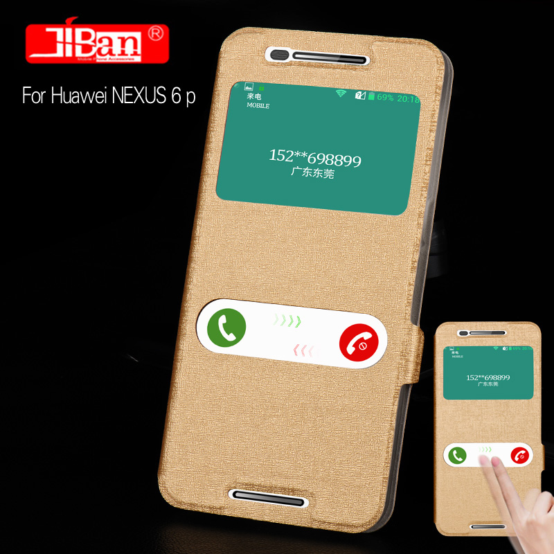 Silk series Flip Leather Case for google Huawei Nexus 6P case Flip Leather Case for Huawei Nexus 6P case with free shipping