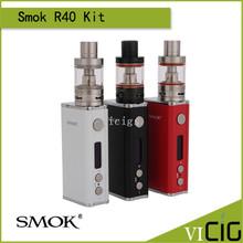 100% Original Smok Kit con 40 W Caja Mod Soporte TC SS R40/NI200/TI Alambre 1900 mah capacidad y 2.8 ml Micro Tanque Básico