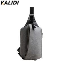 KALIDI Unisex Functional Notebook Casual Chest Pack Zipper Laptop Tablet Shoulder Messenger Bag Case for Apple Ipad 1 2 3 4 Mini