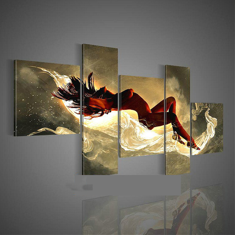 painting modern nude oil canvas for bedroom hall decors in painting