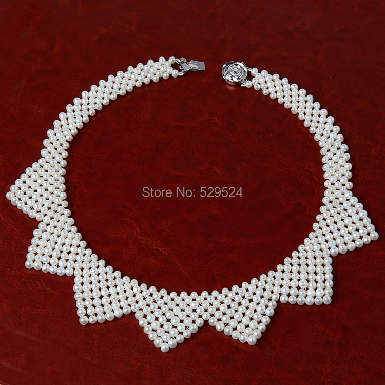 Freshwater pearl necklace and Korean pearl wholesale Dickie star with a high-end custom jewelry(China (Mainland))