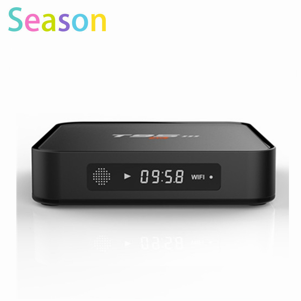 T95M android tv box Amlogic S905X KODI 16.0 Android 5.1 Quad Core 1GB/8GB H.265 4K Built in 2.4G 5G WiFi media player better T95(China (Mainland))