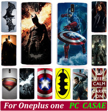 Buy Cool Batman Superman Captain America Painted Keep Clam Phone Hood Cases For Oneplus One One plus One Back Cover Phone Case Shell for $1.44 in AliExpress store