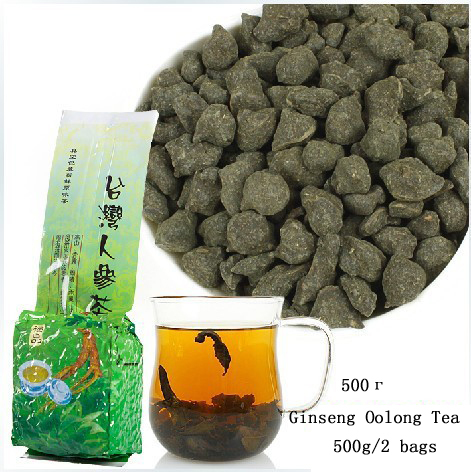 500g 2 bags Free Shipping Famous Health Care Tea Taiwan Dong ding Ginseng Oolong Tea Ginseng