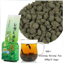 500g 2 bags Free Shipping Famous Health Care Tea Taiwan Dong ding Ginseng Oolong Tea Ginseng Oolong ginseng tea