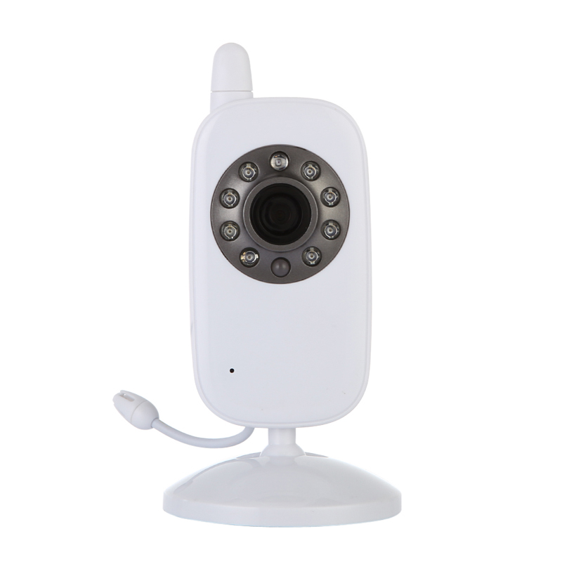Free Shipping 2.4 Safe&amp;Sound Digital Wireless Video Baby Monitor white infant camera <br><br>Aliexpress