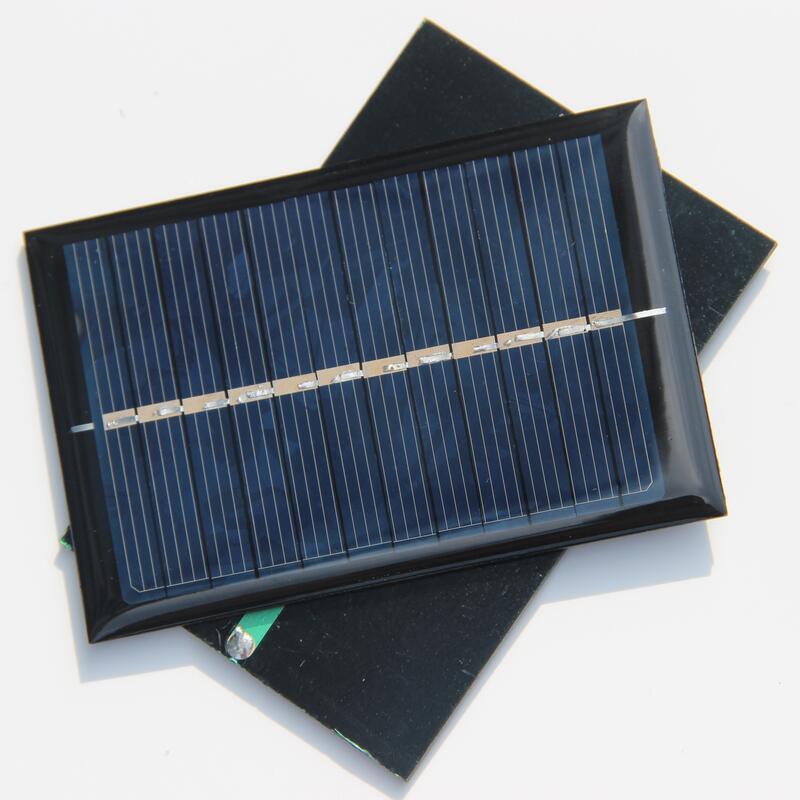 0.6W 6V Polycrystalline Solar Panel Mini Solar Cell For Small Power Appliances Education Kits 90*60*3MM 5PCS/Lot Free shipping(China (Mainland))