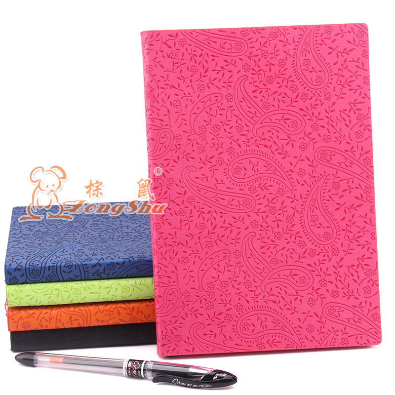 Fashion A5 Solid Color Diary Notebook Accessories Planner Inners Filler Papers 100 sheets Inside(China (Mainland))