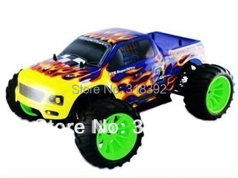 good quanlity free shipping 1/10th Scale SH18cxp Nitro engine Off-Road Monster Truck RC Trucks boy toy