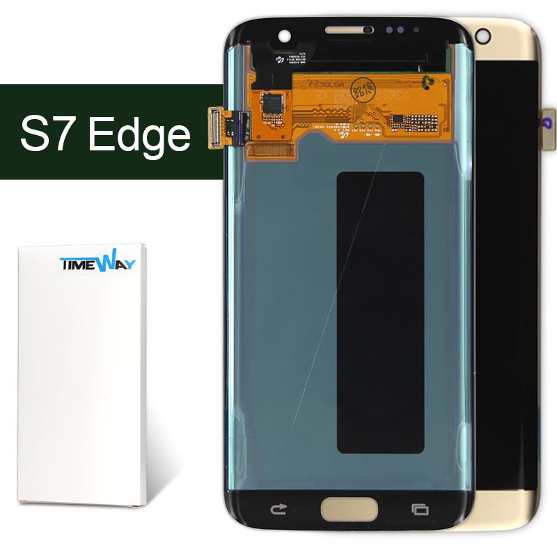 alibaba china Original For Samsung Galaxy S7 edge lcd SM-G935 Display Touch Screen For Galaxy S7 edge lcd(China (Mainland))