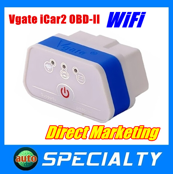 6 colors Vgate Scan ELM327 Vgate iCar2 Wifi OBD Muliscan Support Android/ I--OS/PC OBDII/Wifi Mini ELM327 wifi Vgate ELM327(China (Mainland))