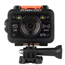 Free Shipping Original SOOCOO S70 WiFi Wireless 2K 60FPS 60M Waterproof built in Microphone+Remote Control L3EF(China (Mainland))