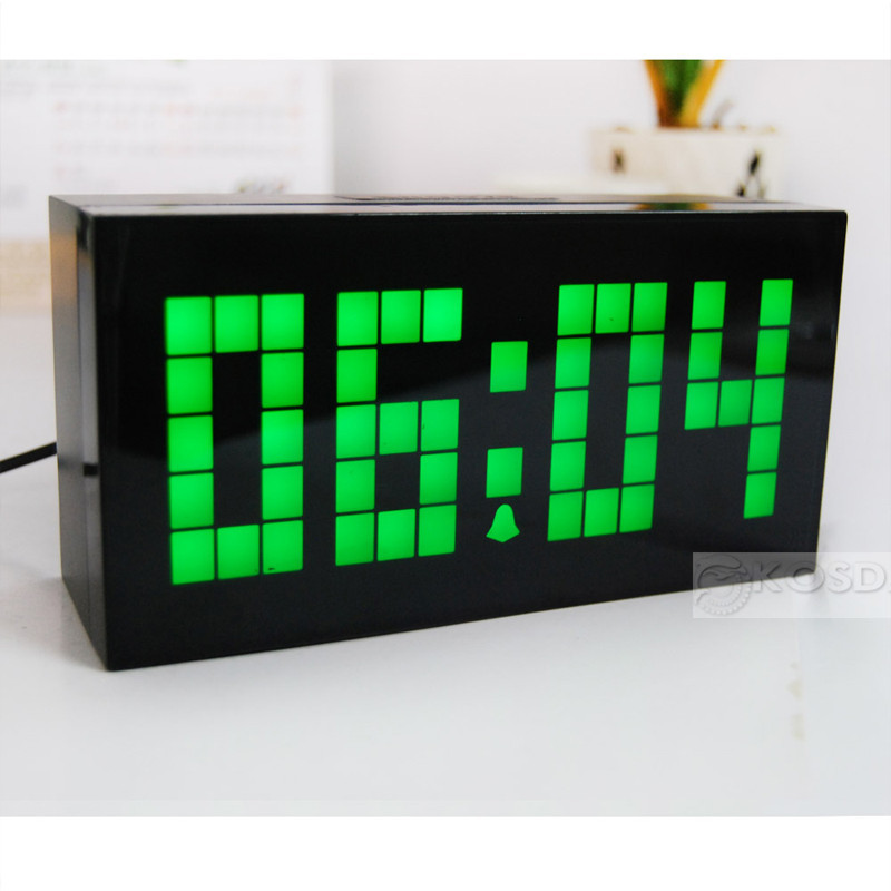 Buy free shipping wall clock countdown Cool digital wall clock