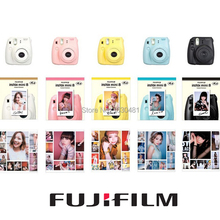 Fuji Mini 8 Camera Fujifilm Fuji Instax Mini 8 Instant Film Photo Camera New 5 Colors White Pink Yellow Blue Black(Hong Kong)