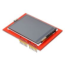 "Hot Sale 2.4"" TFT LCD Display Shield Touch Panel Module TF Micro SD For Arduino UNO R3 Free Shipping(China (Mainland))"