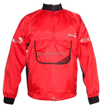 Lenfun Dry Top Kayak Gear canoeing Dry Jacket Semi Dry Suits for Whitewater Kayak Sailing Fishing Watersports
