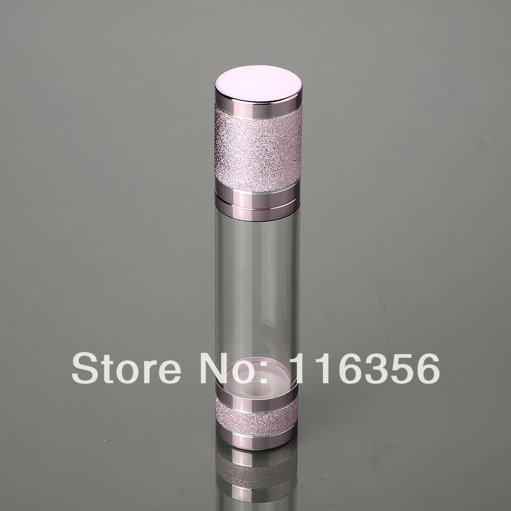 30ml pink blue airless bottle,white/transparent pump with pink lid<br><br>Aliexpress