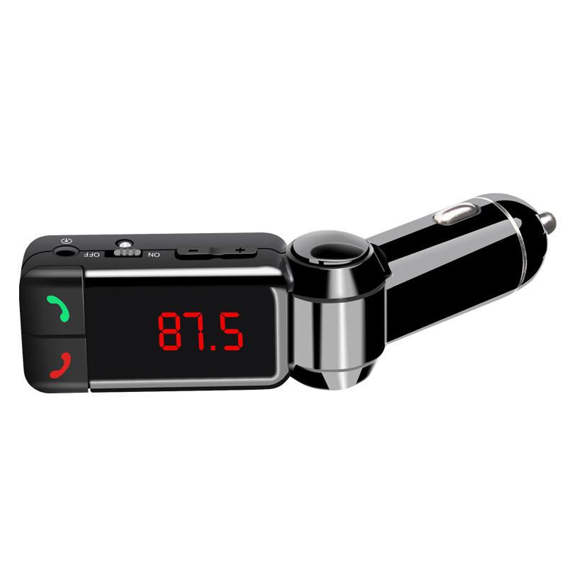 Купить Высокое качество Беспроводной Bluetooth Car Kit Dual USB Зарядное Устройство Громкой Связи MP3 Плеер FM Передатчик Автомобиля mp3 Для продвижение низкая цена