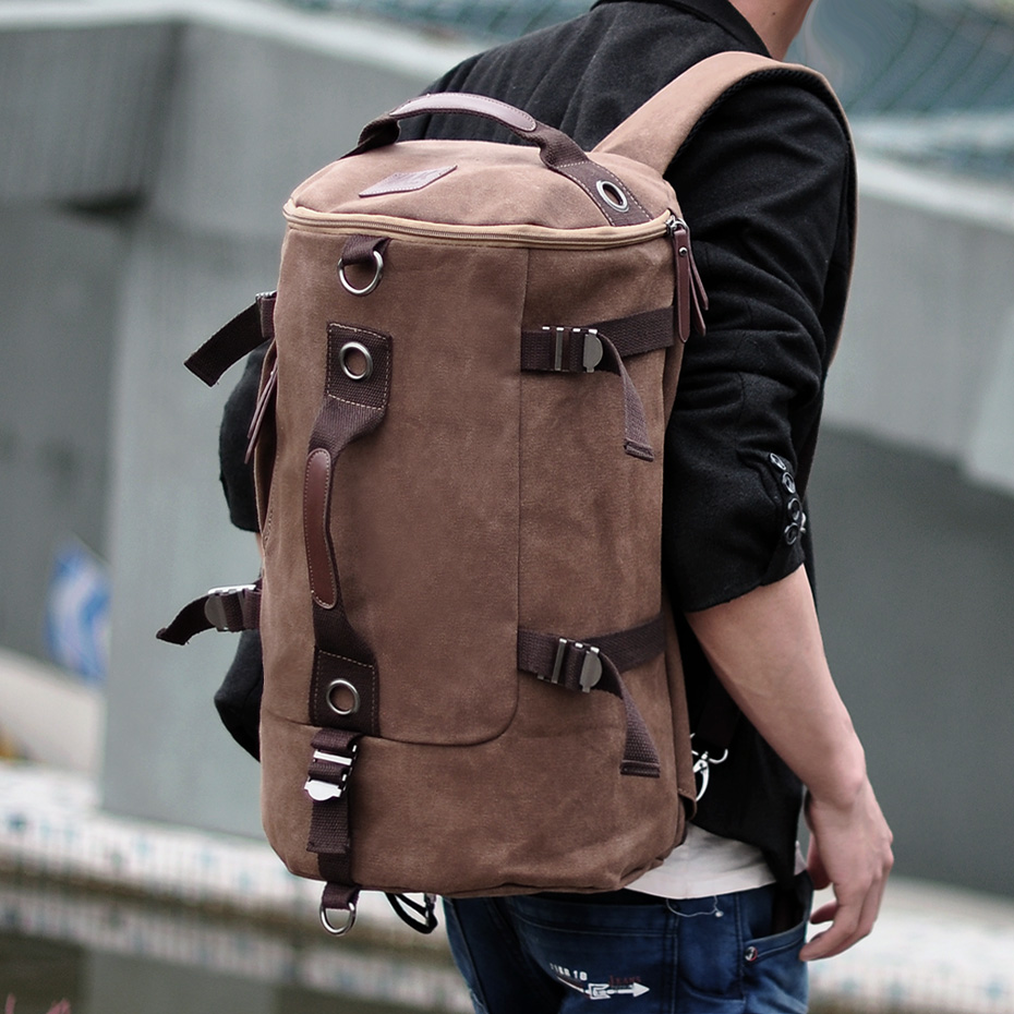Free shipping dual function bag backpack preppy style sports rucksack student school bag laptop travel bags knapsack items BP60<br><br>Aliexpress
