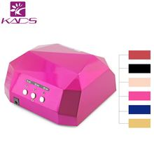 36W 110v&220v CCFL LED Professional Nail Gel Lamp Dryer Diamond Shape Curing Nail Dryer Newly Diamond UV gel Lamp Nail Dryer
