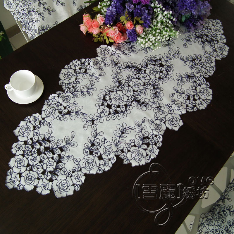 Round table runners promotion shop for promotional round table runners on Coffee table tablecloth