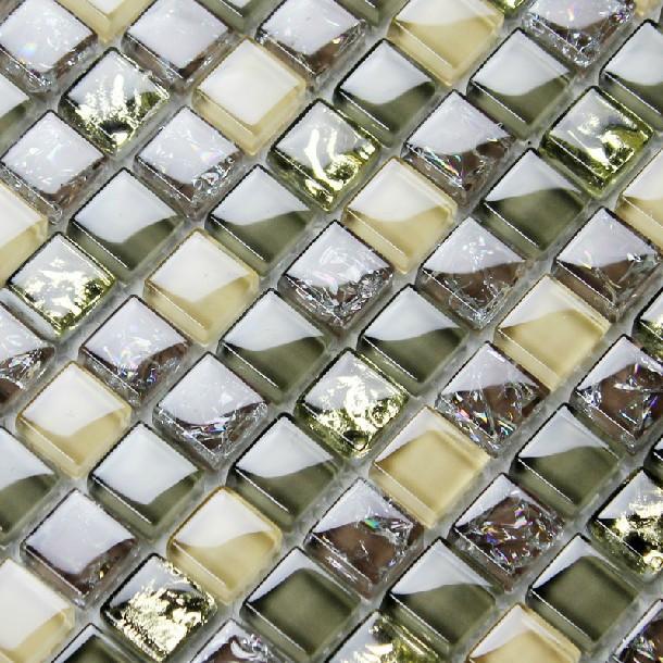 Glass kitchen backsplash tiles ice crack tile kitchen backsplash shower bath wall liners remolding mosaic fireplace tub tiles<br><br>Aliexpress