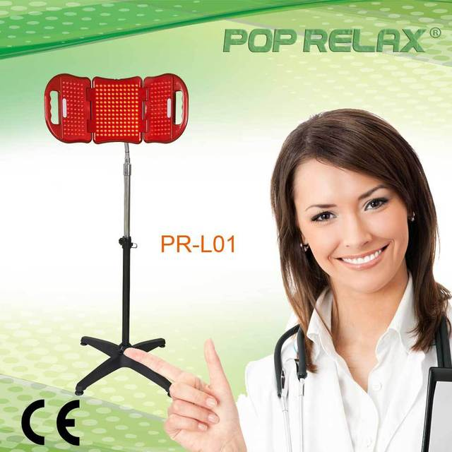 POP RELAX PHOTON LED LIGHT THERAPY MACHINE  PR-L01 Red