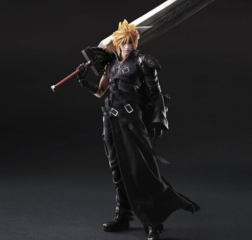 Final Fantasy Action Figure Play Arts Kai Cloud Strife Collection Model Toy PLAY ARTS Final Fantasy Cloud Strife Playarts Doll(China (Mainland))